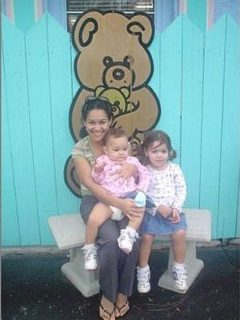 Elayna, Elisha and Elyssa at Child Care Center in Naples FL 2005