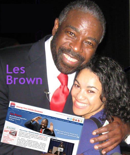 Les Brown - The World's Top Motivational Speaker and Speaker Trainer
