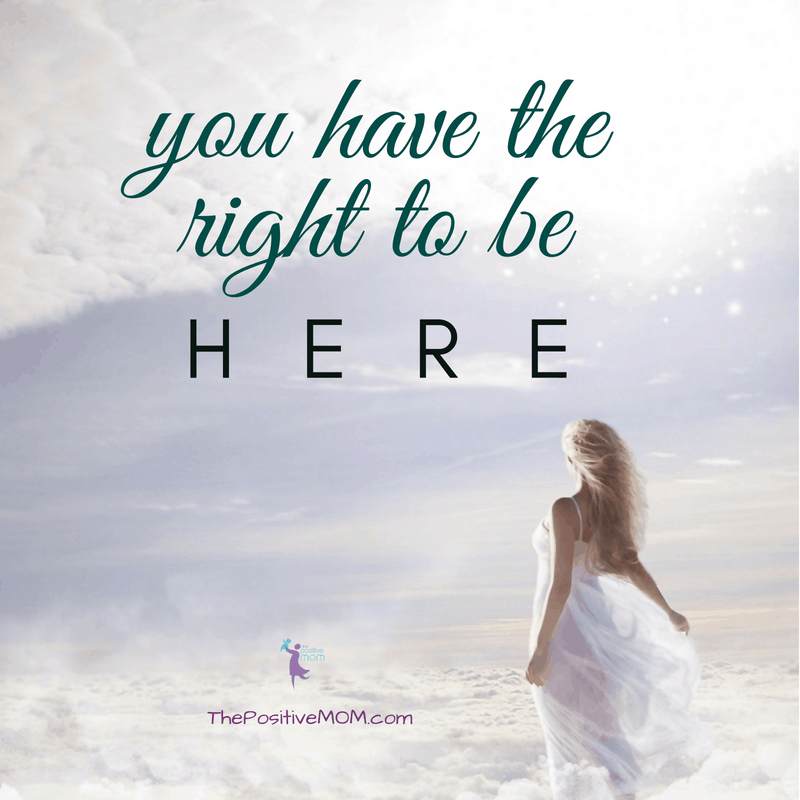 Desiderata - You have the right to be here