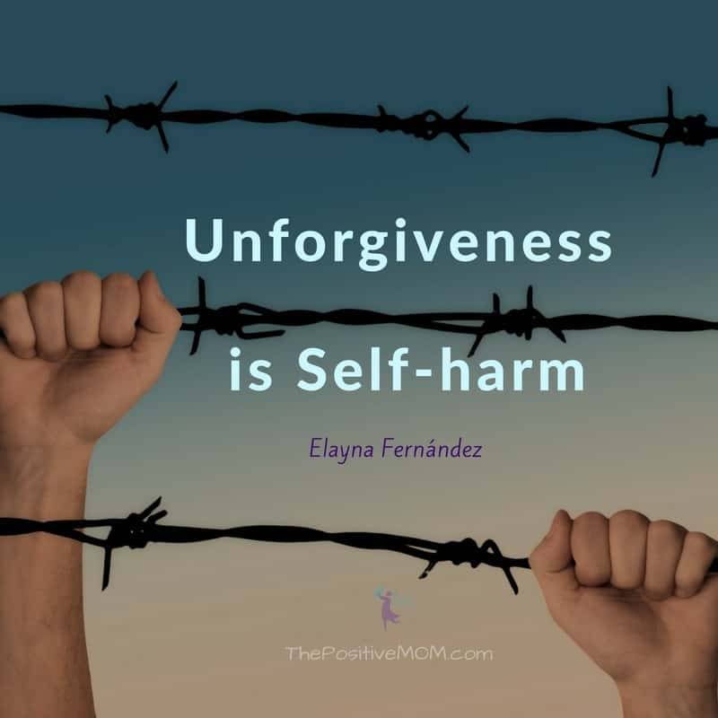 Unforgiveness is self-harm