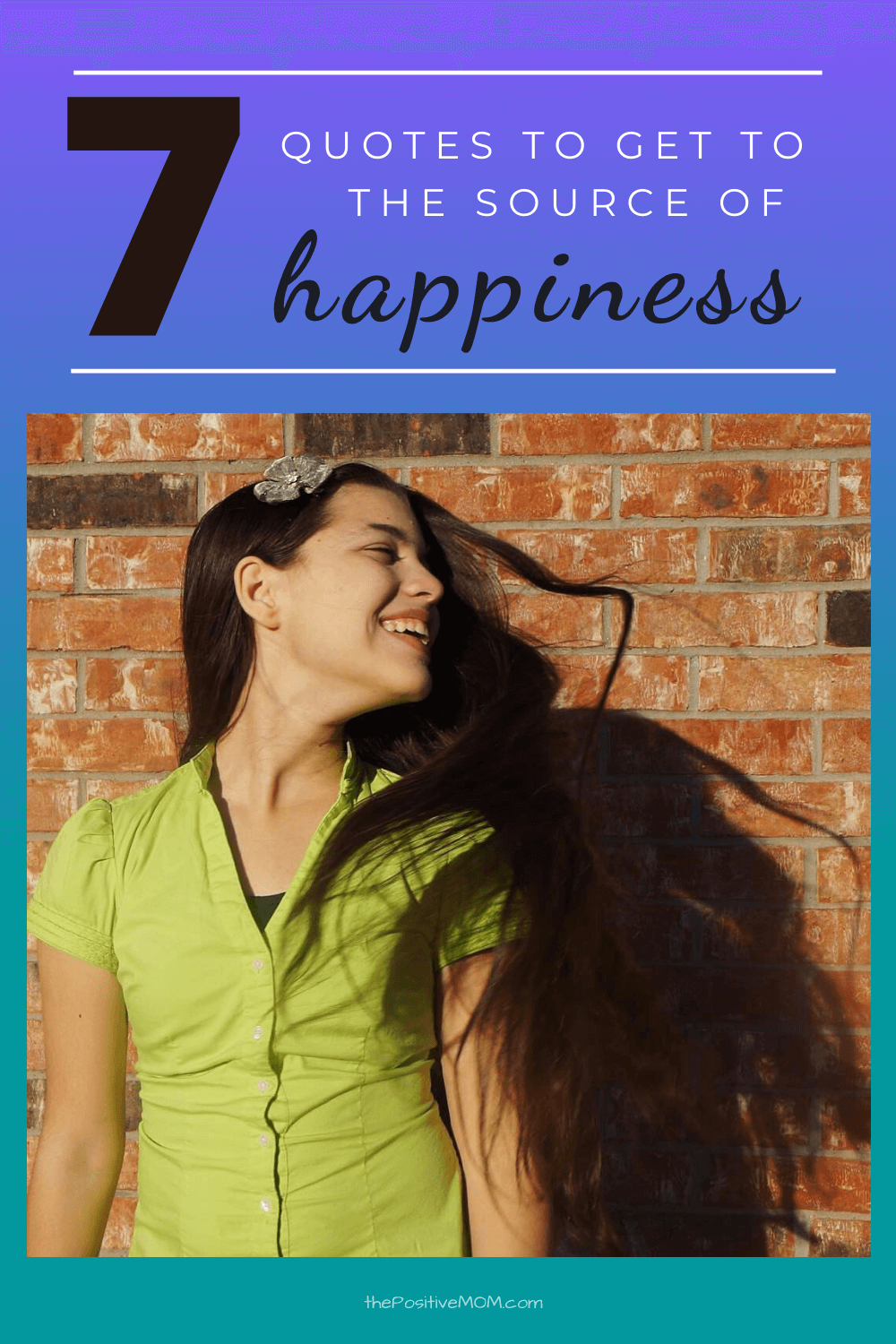 Finding Happiness : 7 quotes to get to the source of happiness