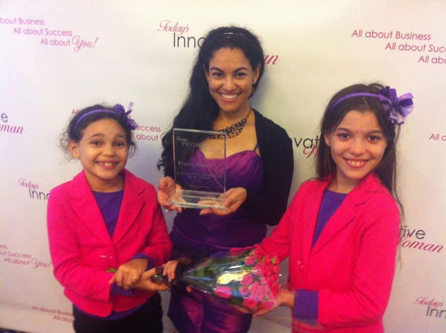Mom Entrepreneur of the Year award goes to Elayna Fernandez - The Positive MOM