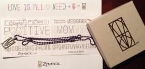 Zymbol: Love is all you need, positive mom!