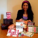 Elayna Fernandez - Certified Guerrilla Marketing Master Trainer with Guerrilla Marketing books by Jay Conrad Levinson father of guerrilla marketing