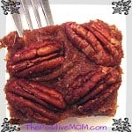 Raw Vegan Pecan Pie Recipe and The 12 Days of Motherhood