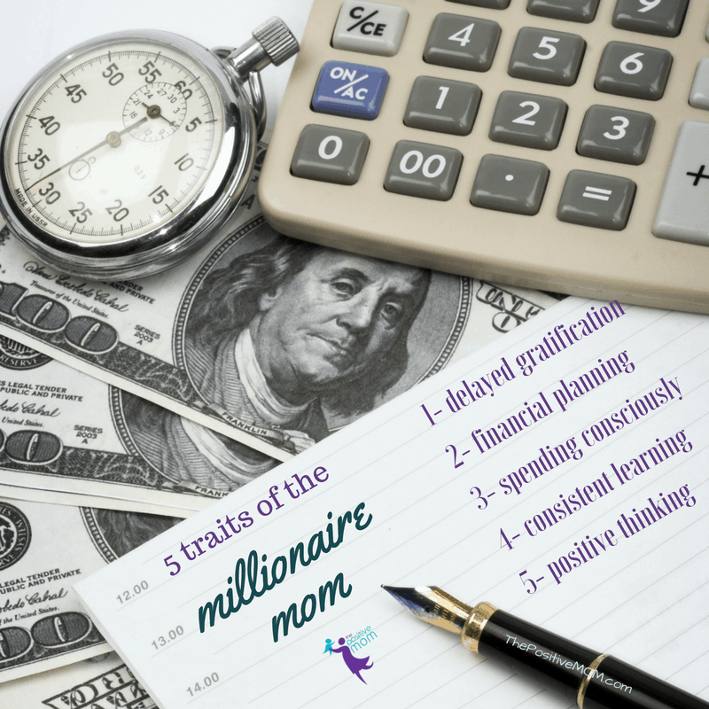 Traits of the millionaire mom