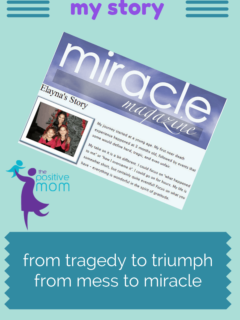 the positive mom story miracle magazine SWFL