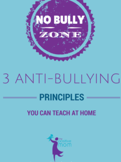 3 antibullying principles you can teach at home