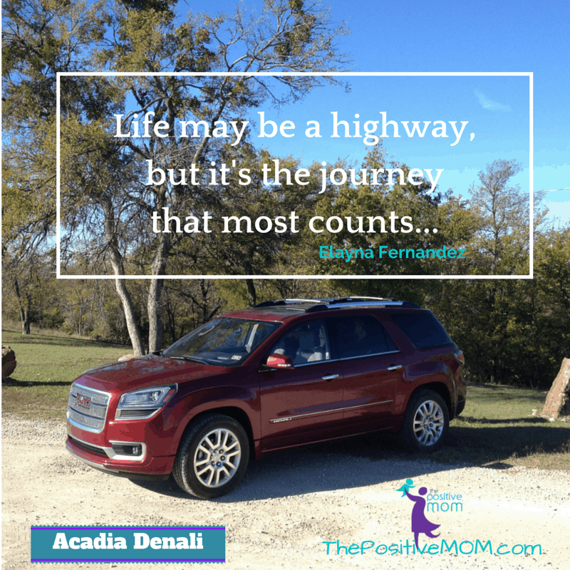 ACADIA DENALI - Life may be a highway but it's the journey that counts most - Elayna Fernandez ~ The Positive MOM