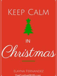 Keep Calm in Christmas