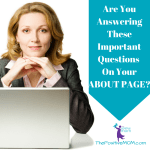 Are You Answering These Important Questions On Your About Page?