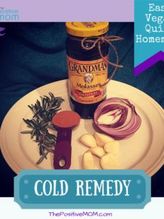 Vegan Homemade Cold Remedy