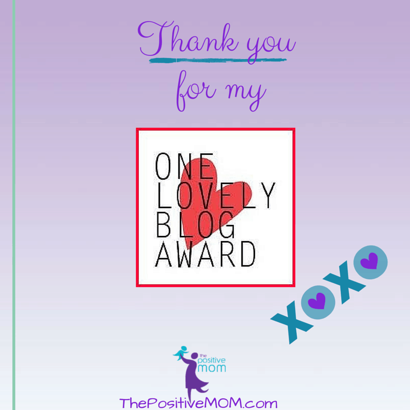Thank you for the one lovely blog award