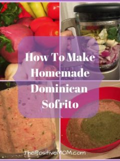 how to make homemade Dominican sofrito