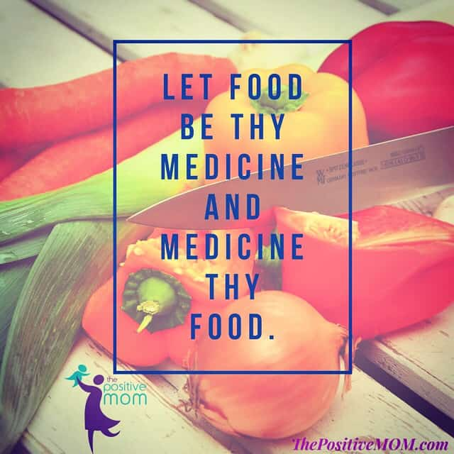 let food be thy medicine and let medicine be thy food