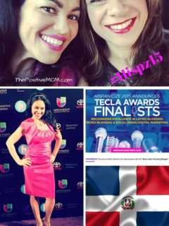 proud to be latina and tecla awards finalist nominee