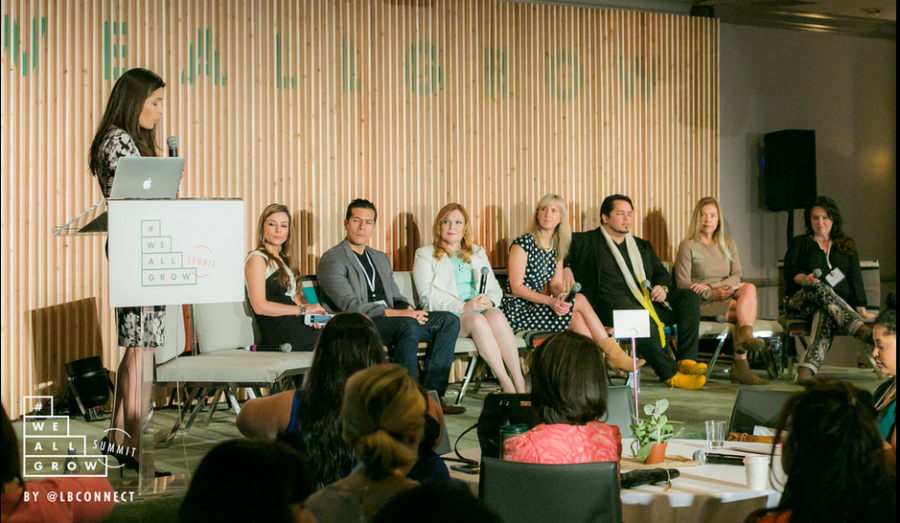 how influencers and brands connect panel at We All Grow Summit 2015