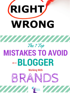 The Top 7 Mistakes To Avoid As A Blogger Working With Brands #WeAllGrow