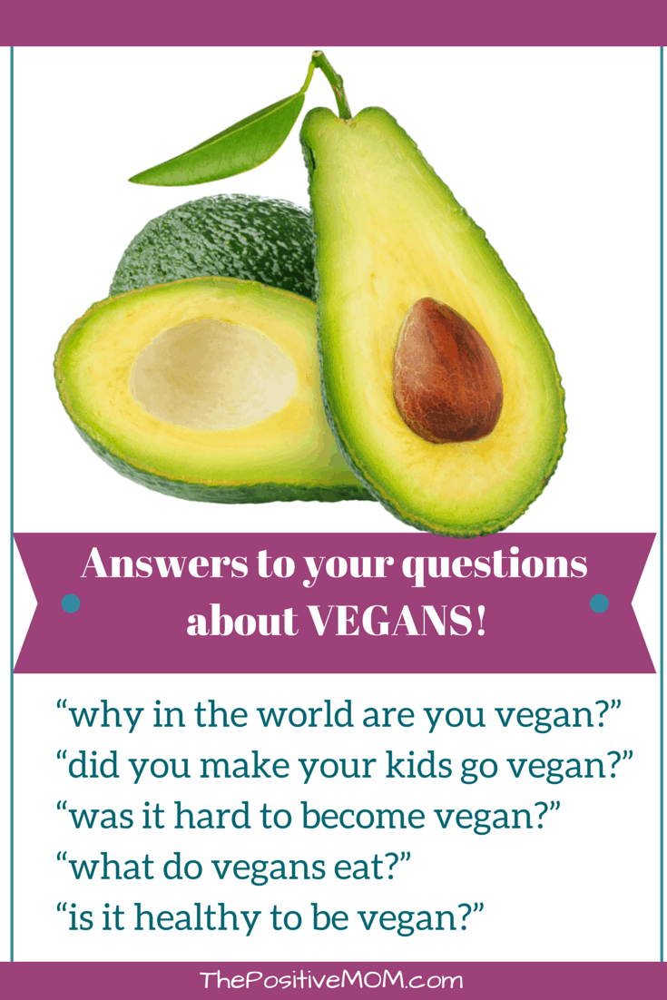 Why in the world are you vegan? and other answers to your questions about vegans!
