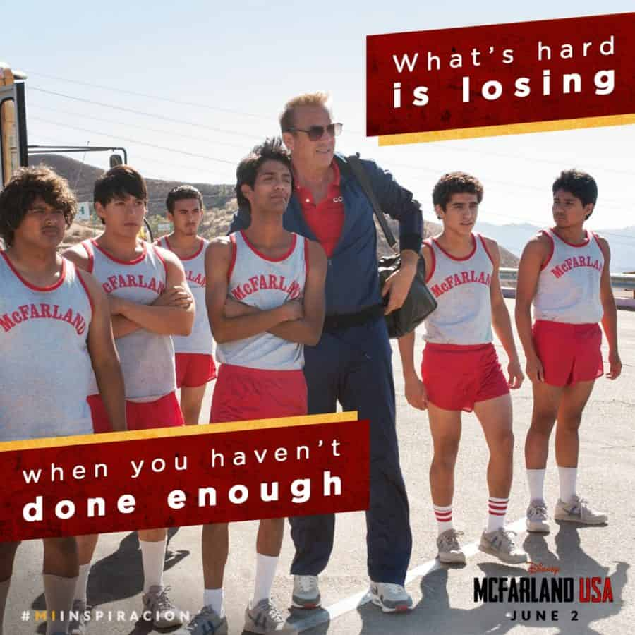 what's hard is losing when you haven't done enough - coach Jim White, McFarland USA High School