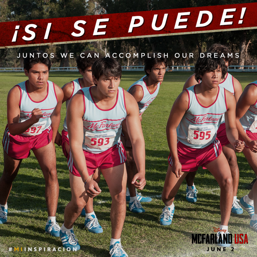 McFarland USA Disney Movie - Yes We Can - We can achieve anything together