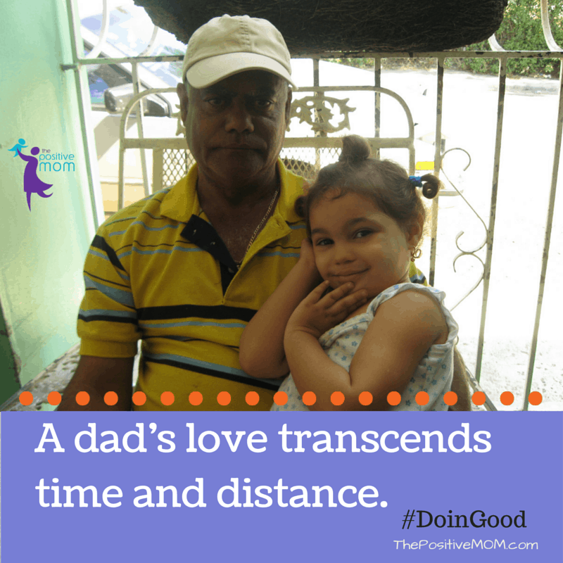 a dad's love transcends time and distance