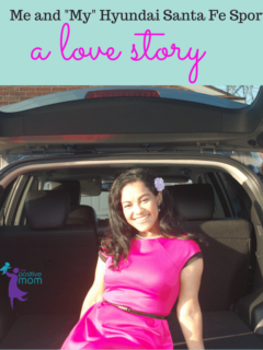 Elayna and the Hyundai Santa Fe Sport love story