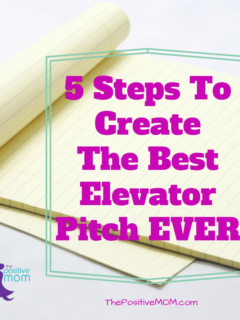 5 steps to create the best elevator pitch ever for your blog or business