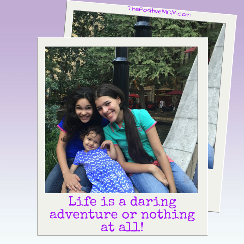 Life is a daring adventure or nothing at all - Helen Keller quote