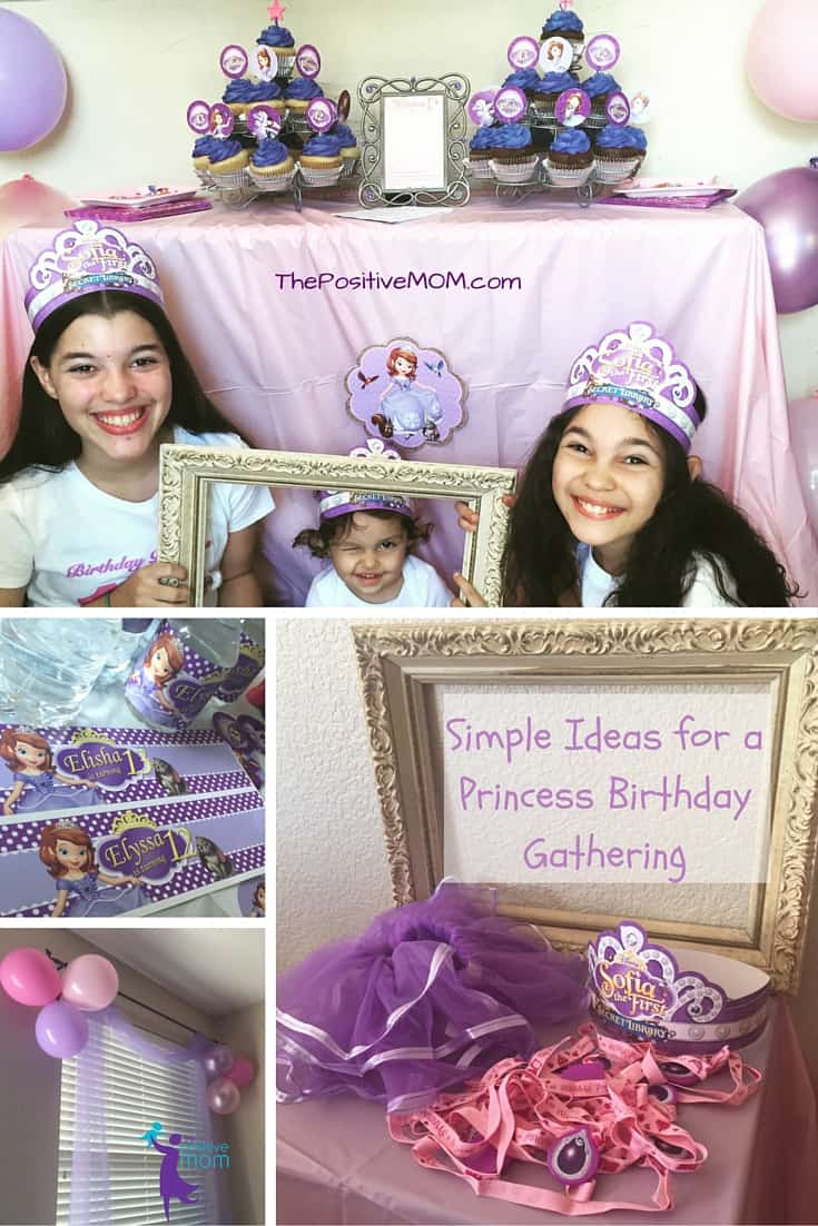 Disney Junior Dear Sofia Birthday Simple Ideas for a Princess Birthday Gathering