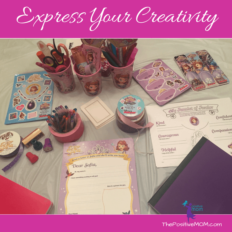 Express your creativity with Sofia The First