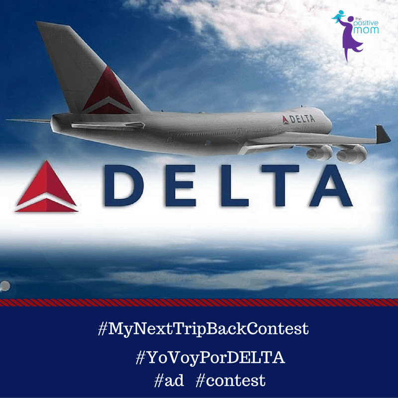 Enter #MyNextTripBackContest for a chance to win and make your dream come true with DELTA Air Lines #YoVoyPorDELTA