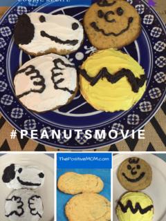 #PEANUTSMOVIE vegan snickerdoodle cookie recipe