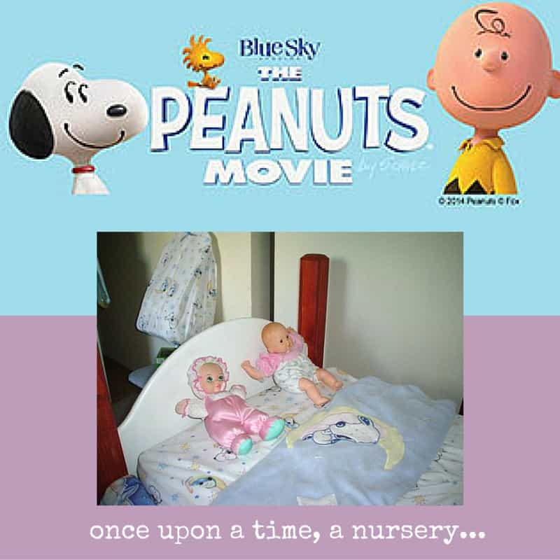 Elisha and Elyssa Snoopy Nursery