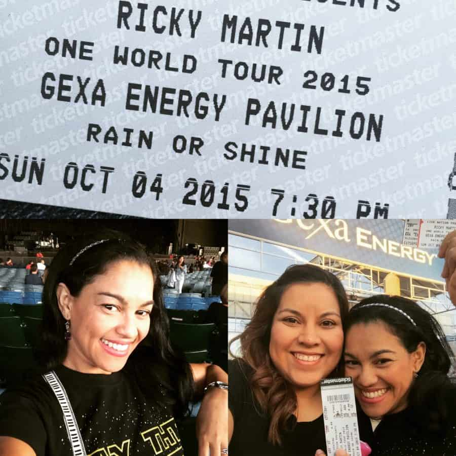 Ricky Martin concert on Mom's Night Out