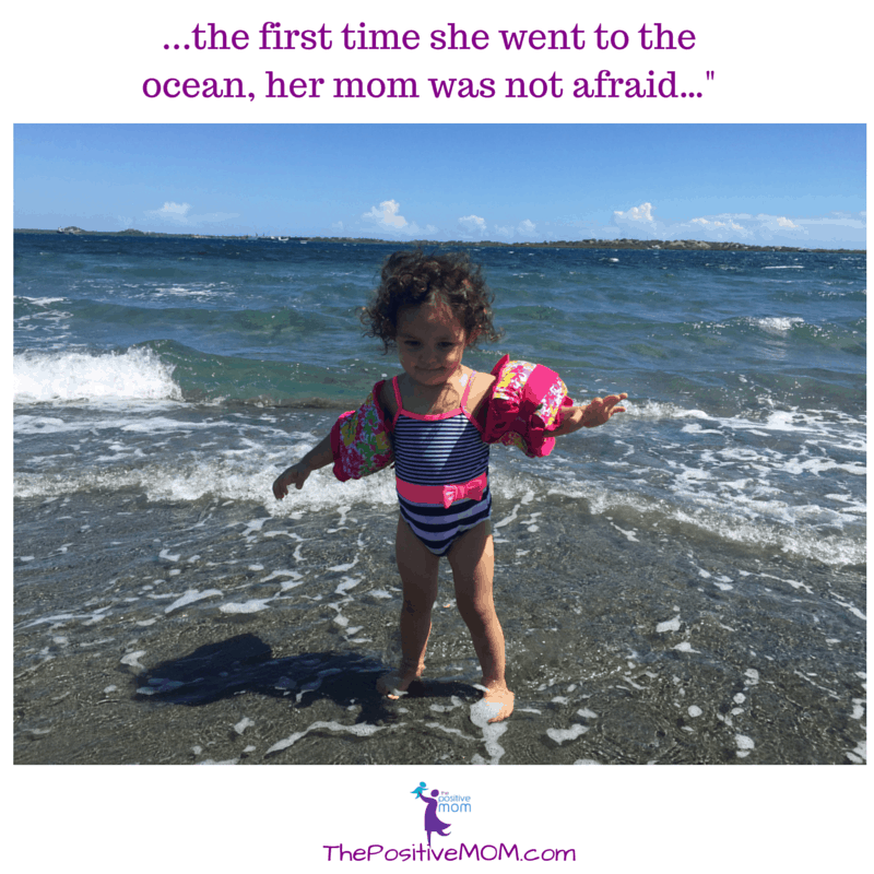 "...the first time she went to the ocean, her mom was not afraid…"" #YoVoyPorDELTA #MyNextTripBackContest #ad #contest"