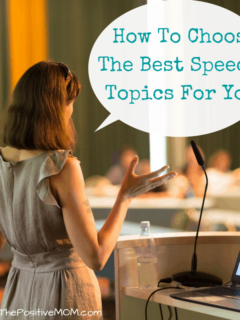 How To Choose The Best Speech Topics For You