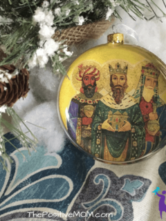 Three Kings Day Celebration - Tres Reyes Magos Tree Ornament