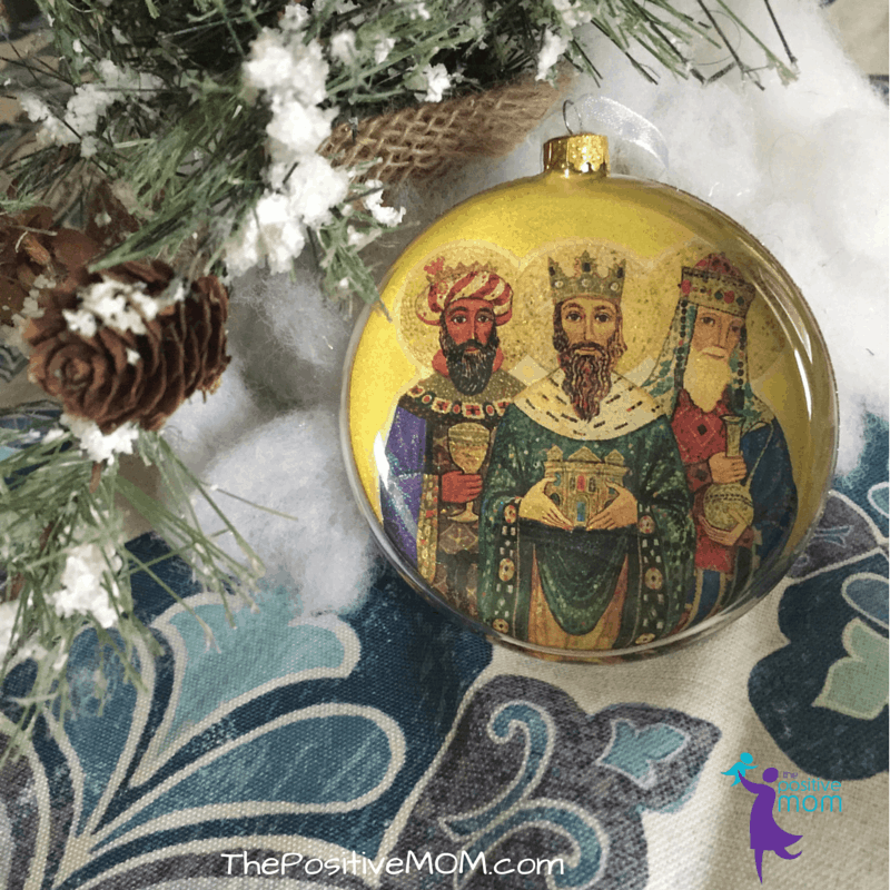 Three Kings Day Celebration - Tres Reyes Magos Tree Ornament