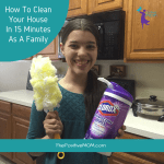 How To Clean Your House In 15 Minutes As A Family