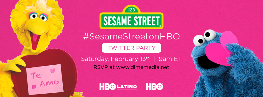 Sesame Street on HBO - Valentine's Day Twitter Party and Episode Teaching Kids How To Show Affection