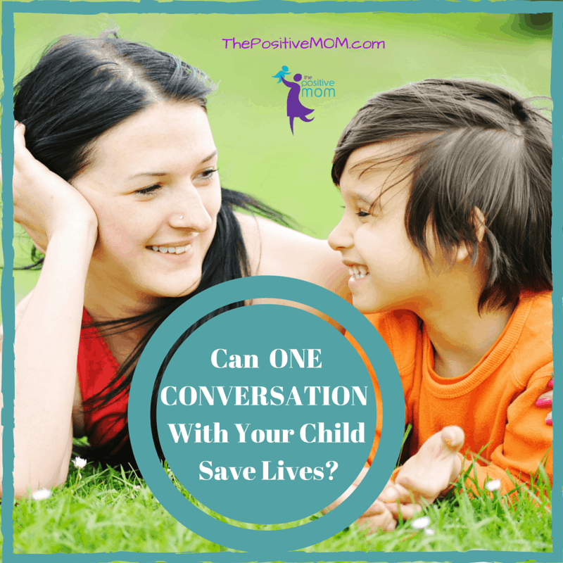 Can one conversation with your child save lives? Research says YES!