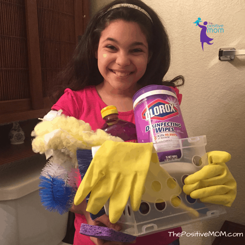 Cleaning as a family makes chores easy and fun