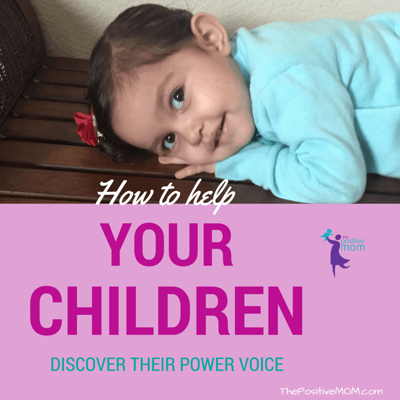 How to help your children discover their power voice