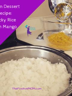 Vegan Dessert Recipe - How To Make Sticky Rice With Mango