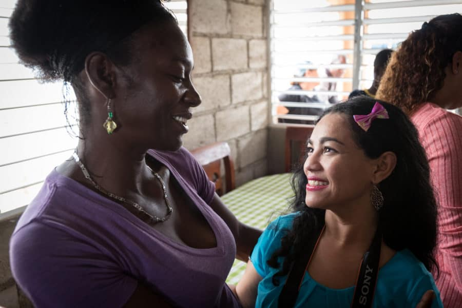 Milagros Matos and Elayna Fernandez - two Positive Moms in different and similar ways