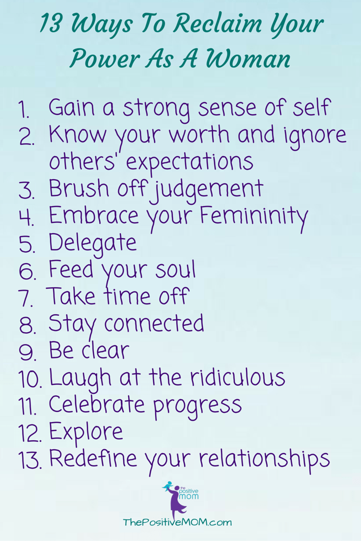 13 Ways To Reclaim Your Power As A Woman #ThroughTheLookingGlassEvent