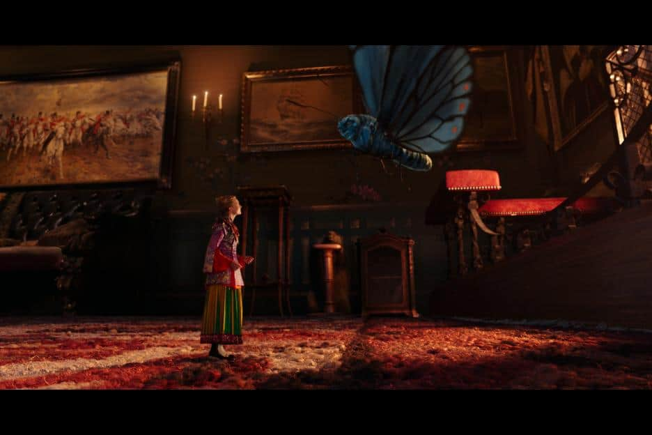 Alice Through The Looking Glass - Alice and Absolem
