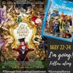 Alice Through The Looking Glass Event Blogger