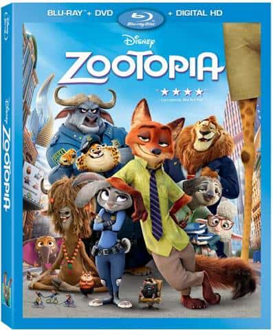 Zootopia available in Blu-Ray DVD and Digital HD